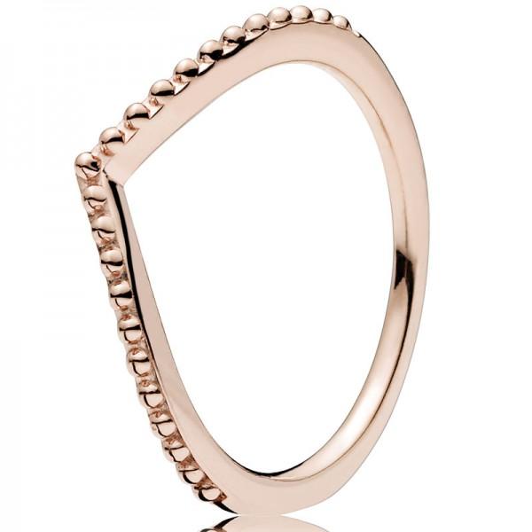 PANDORA Ring Beaded Wish 186315-48