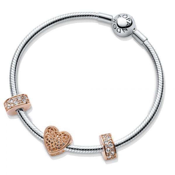 PANDORA Ewige Liebe Armband SET B800749