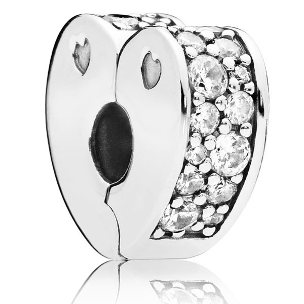 PANDORA Charm Sparkling Arcs of Love 797020CZ