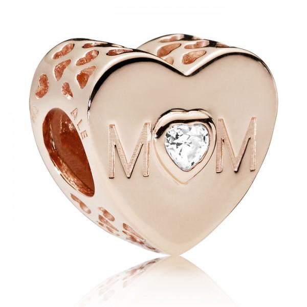 PANDORA Charm Mother Heart 781881CZ