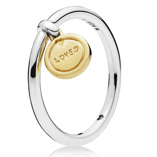 PANDORA Shine and silver ring 167823
