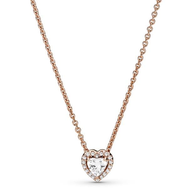 Funkelndes Herz Collier-Halskette PANDORA 388425C01-45