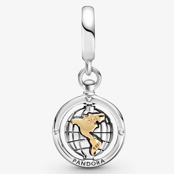 Drehende Welt PANDORA Charm-Anhänger 799303C01