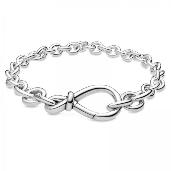 Kräftiges Unendlichkeitsknoten PANDORA Armband 598911C00