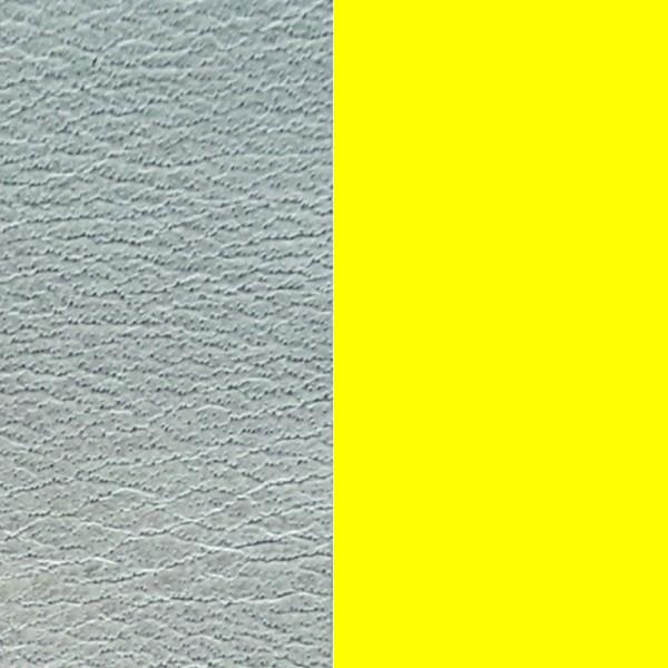 Les Georgettes Ledereinsatz Azure –Neongelb 14mm-25mm-40mm