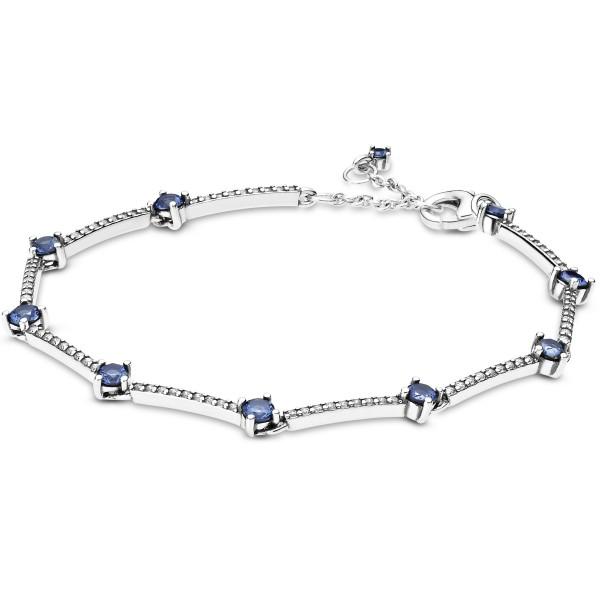 Funkelnde Pavé-Stäbe PANDORA Armband 599217C01