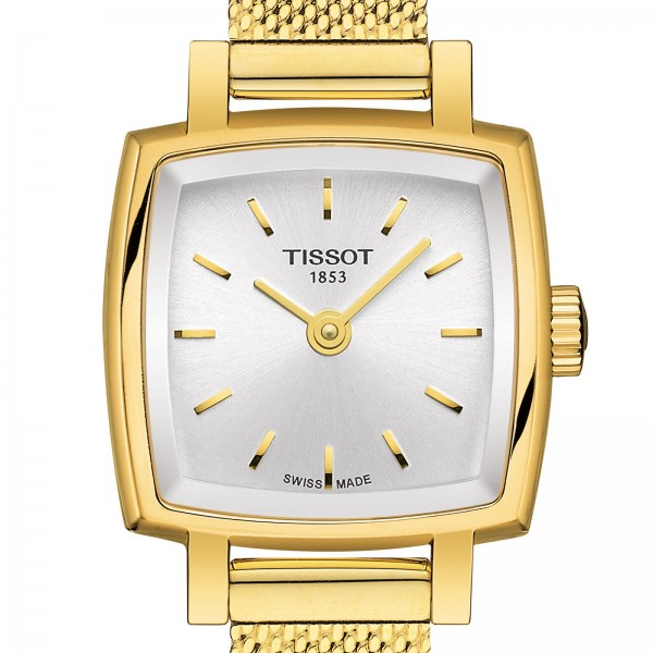 TISSOT Lovely Square Damenuhr T0581093303100 T058.109.33.031.00