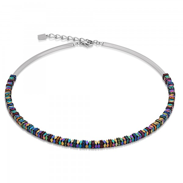 Collier Hämatit & Strass multicolor 4777101500