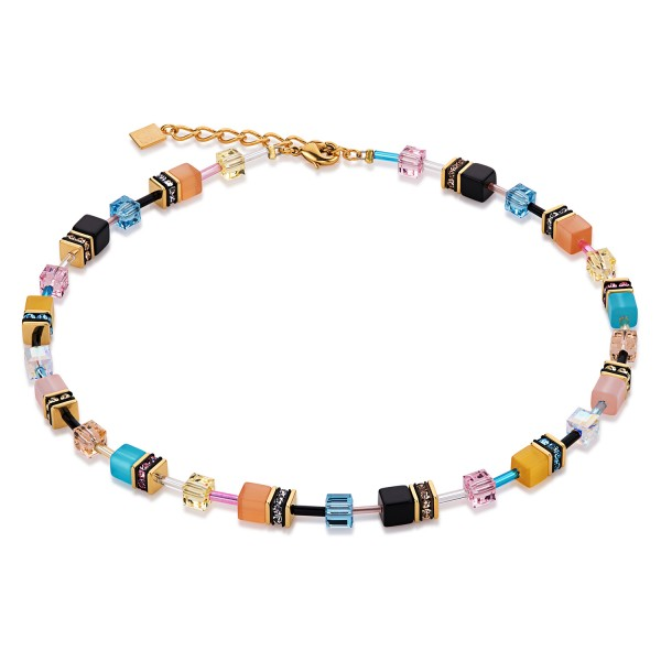Coeur De Lion Geo Cube Collier Multicolor Candy 2838101549
