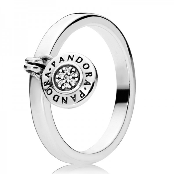 PANDORA Ring Stackable Pandora Signature 197400CZ-48