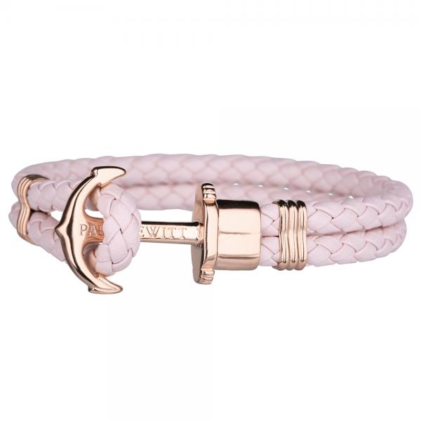 PAUL HEWITT PHREP Roségold Anker Armband Pink Rose PH-PH-L-R-Pr-S
