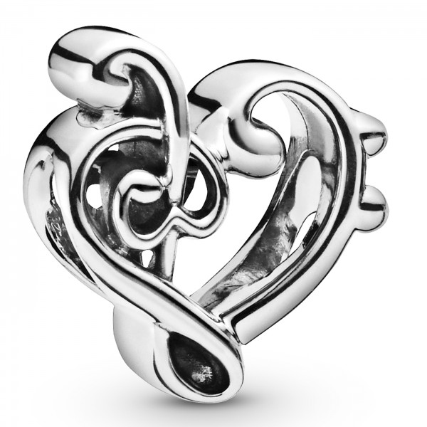 Heart Treble Clef PANDORA Charm 798346
