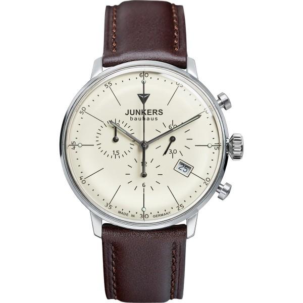 Junkers 6088-5 Bauhaus Chronograph Herrenuhr